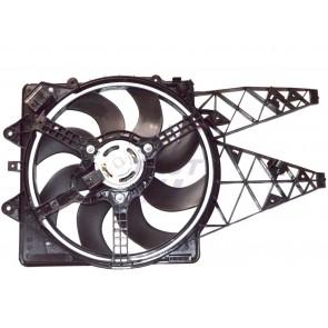 RADIATOR FAN FIAT PUNTO GRANDE 05> 1.3 JTD [+] AC